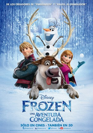 Frozen Latin American Poster