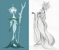 Early Elsa Concept Art