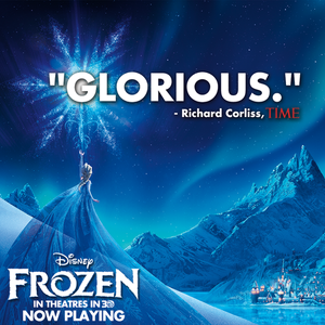Frozen Now Playing