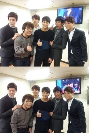 Joo Won with 'Gag Concert'