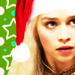 Dany- Christmas - game-of-thrones icon