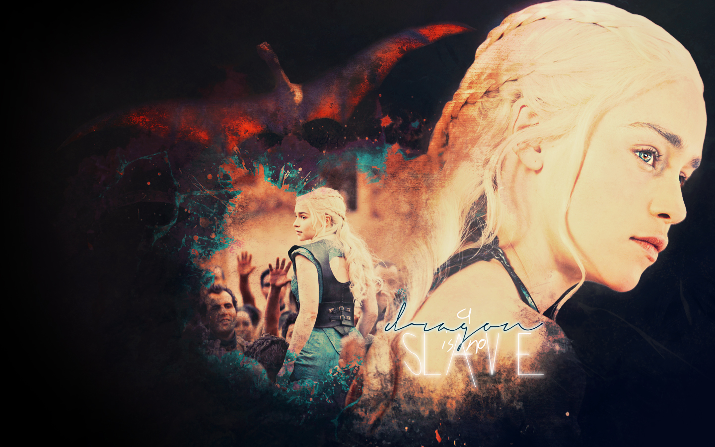 Game Of Thrones Wallpaper Probably Containing A Concerto And Fuoco Titled Daenerys Targaryen