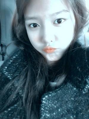 Sooyoung - Selca @ UFO perfil Pic。