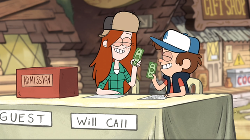 Gravity Falls Dipper And Wendy