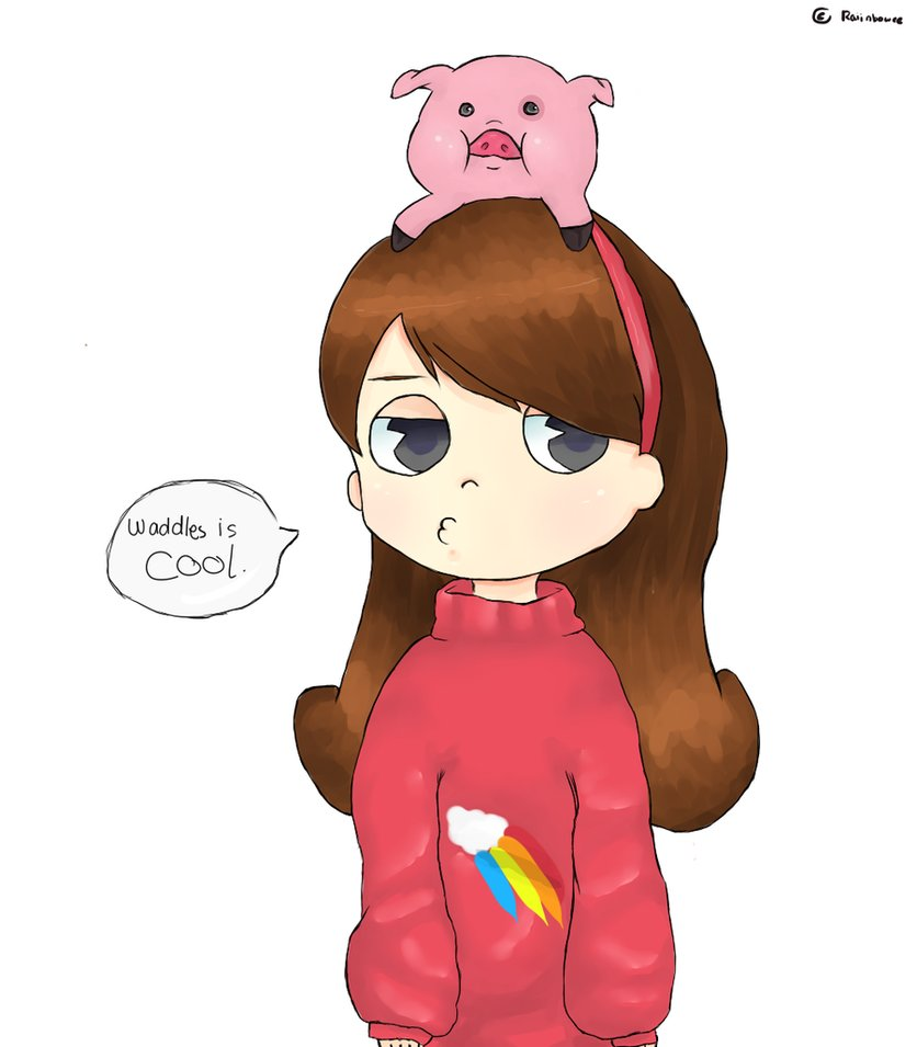 Mabel and Waddles