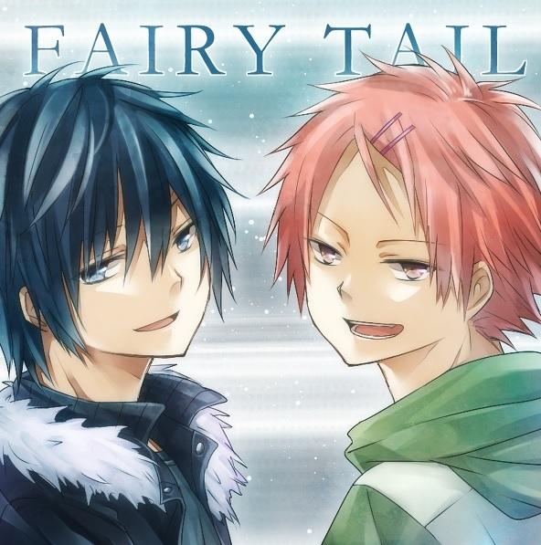 Gray & Natsu - Gray Fullbuster Fan Art (36173658) - Fanpop