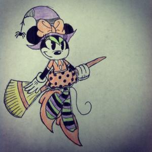 हैलोवीन minnie