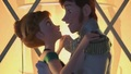Love is an open door video clip Screencaps