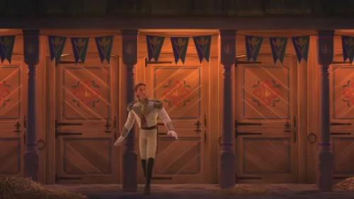 Hans wallpaper titled Love is an open door video clip Screencaps