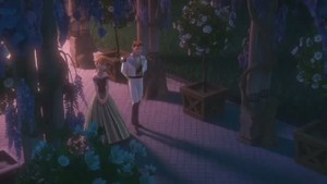 Love is an open door video clip Screencaps