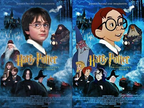 Harry Potter Vs. Twilight wolpeyper containing anime titled HARRY POTTER<33333