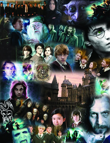 Harry Potter Vs. Twilight wolpeyper probably containing anime entitled HARRY POTTER<33333