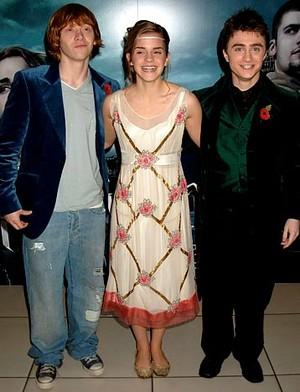 Harry,Ron,Hermoine