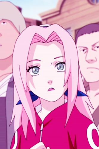 Haruno Sakura wallpaper possibly with anime called Beautiful Sakura
