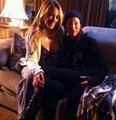 "On set of ""Badge Of Honor"" - haylie-duff photo"