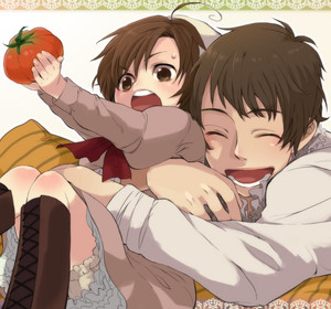 Spain and Little Romano~