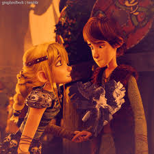 Hiccup and Astrid pag-ibig
