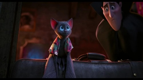 Hotel Transylvania kertas dinding possibly with a lippizan, a street, and a sign called Hotel Transylvania {Blu-Ray}