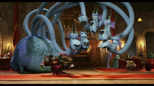 Hotel Transylvania Обои with a triceratops called Hotel Transylvania {Blu-Ray}
