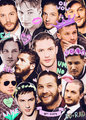 tom hardy , fab - hottest-actors fan art