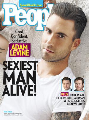 Adam Levine Sexiest Man Alive 2013