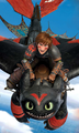 Older Hiccup and Toothless - how-to-train-your-dragon photo