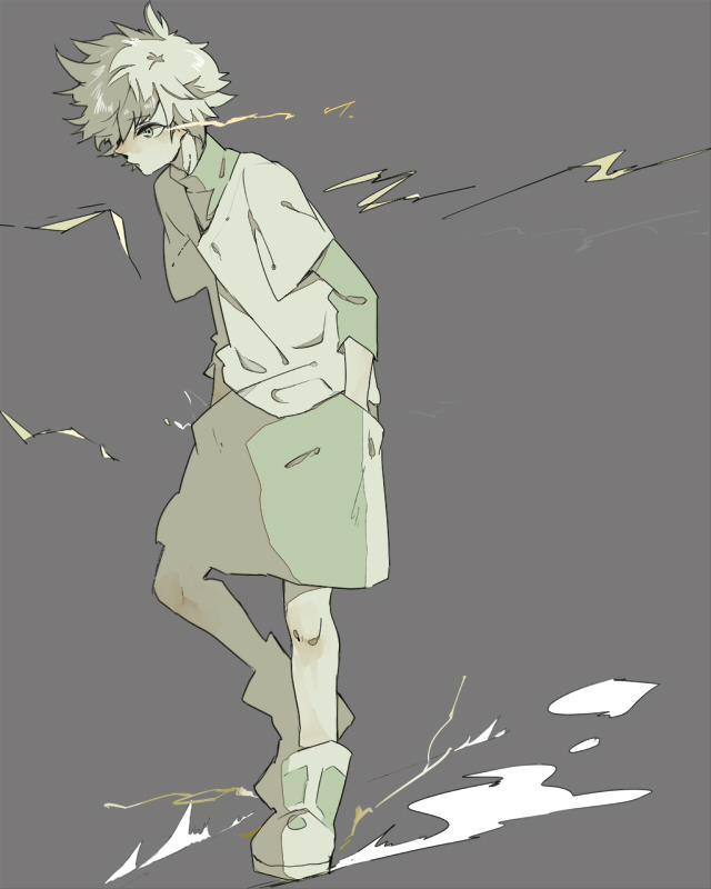 日本aaaa图片_《全职猎人》 壁纸 with 日本动漫 entitled killuaaaaaaaaa