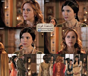 Hurrem's and Hatice's friendship