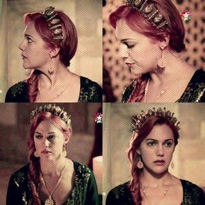Hurrem's nice hairstyle
