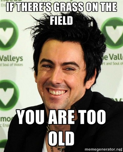 Ian Watkins wallpaper containing a portrait and anime called grass on the field