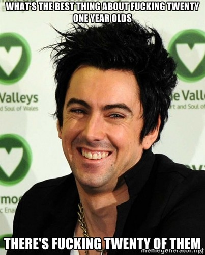 Ian Watkins wallpaper containing a portrait entitled best thing about