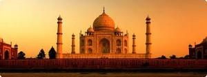 Taj Mahal Landscape