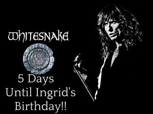 5 days until Ingrid's Birthday....BOOM!