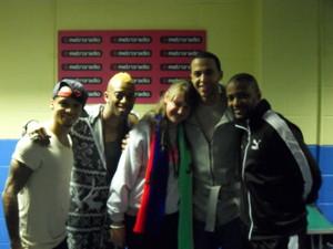 Leona Kelf meets JLS