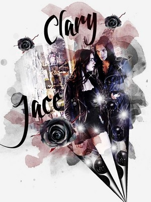 Jace and Clary ♡
