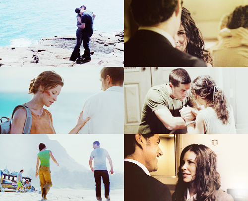 Jack and Kate Hintergrund called I have always been with Du ♥