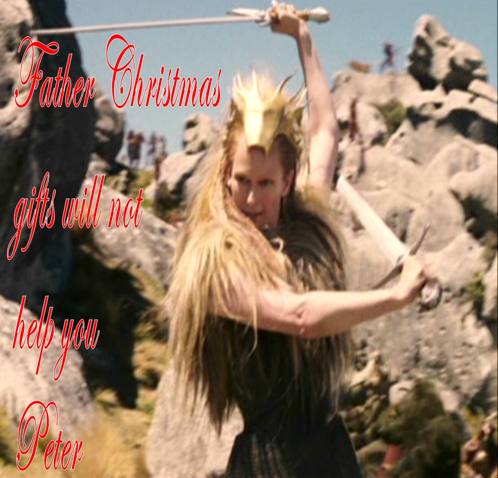 Jadis Father Christmas gifts will not help you Peter - Jadis Queen Of Narnia Photo (36169444 ...