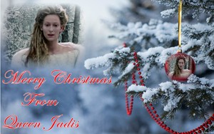 Jadis Merry krisimasi from Queen Jadis