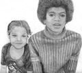 Janet And Michael As Children - janet-jackson fan art