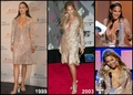 Copycat: Beyonce copies Jennifer Lopez [JLo 1999 vs Beyonce 2003] - jennifer-lopez fan art