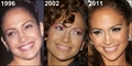 JLo Through the years, then and now 1996, 2002, 2011 - jennifer-lopez fan art
