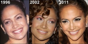 JLo Through the years, then and now 1996, 2002, 2011
