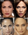 JLo then and now - jennifer-lopez fan art