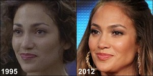 JLo then and now 1995 2013