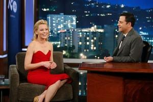 Elizabeth Banks on Jimmy Kimmel Live!