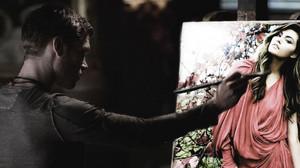 Klaus painted Hayley (The Originals )
