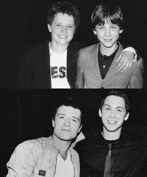 Josh Hutcherson & Logan Lerman♥