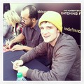 Josh at the Catching Fire Fan Camp - josh-hutcherson photo