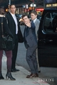 Josh arriving at David Letterman - josh-hutcherson photo
