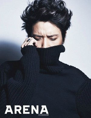 Yonghwa for 'Arena Homme Plus'